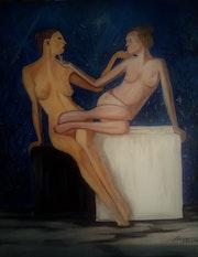 » Venus et Sapho».