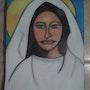 La Vierge (» la madone»). Evelyne Patricia Lokrou