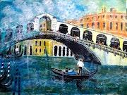 Aus der Serie «Bella Italia» - Rialtobrücke.