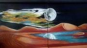 Noche de fuego y luna. Auri