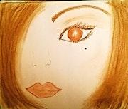 Dans l'oeil d'Elodie.