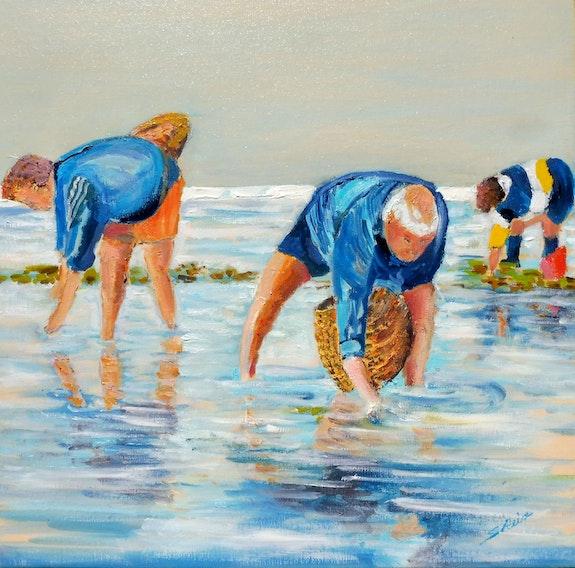 Pêcheurs à pied. Serge Reix Sergio