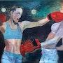 Les boxeuses. Nathalie Vareille Sorbac