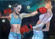 Les boxeuses.