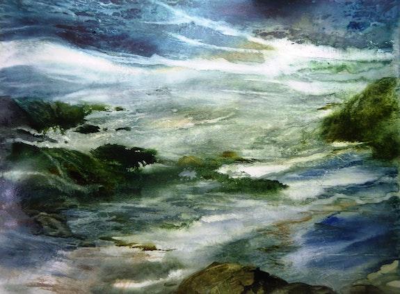 » Le silence de la mer». Anne Huet Baron Anne Huet Baron
