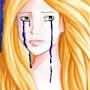 La Femme qui Pleure (Aquarelle). Yrya-Chan