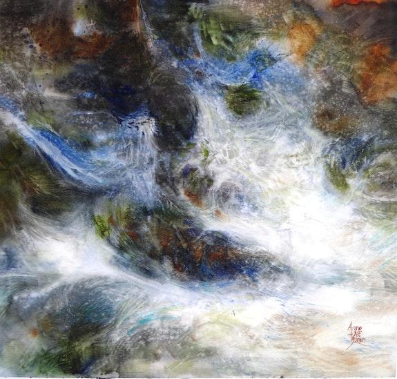 » La musique céleste de l'eau». Anne Huet Baron Anne Huet Baron