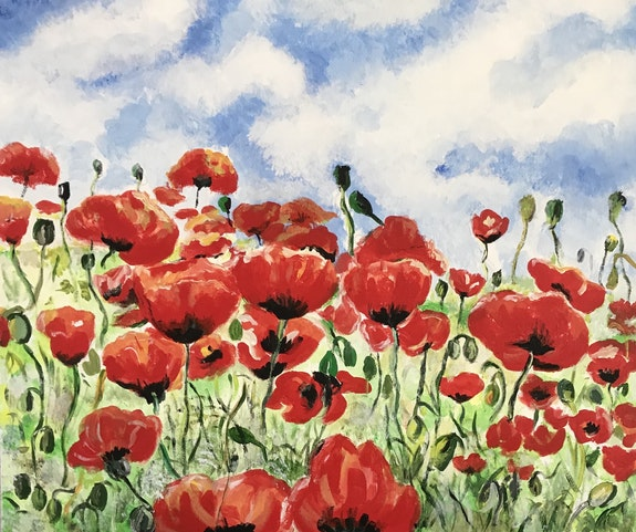 Coquelicots. Gilles Gomard Gilles Gomard