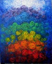 Chacras coloridos. Cecilia Herrera