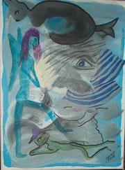 Le bleu voodooh balaboo. Jamart