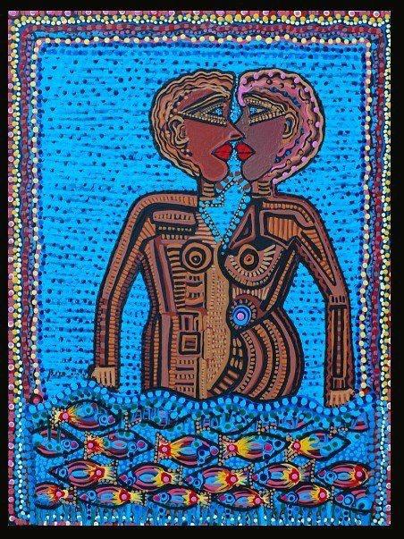 Modern paintings israel acrylic art painter artist. Mirit Ben-Nun Artist Painter Israeli Art