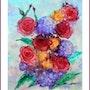 Bouquet de fleurs. Viviane Farrugia