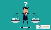 Pros and Cons of Outsourced Call Centre Services!. Go4Customer
