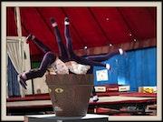 A l'école du cirque.