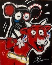 Mickey qui rit. J. L