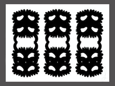 Las máscaras de la vida y la oscuridad. Fergusson Gudoguisan