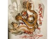 Peace by Gopaal Seyn  Houston Contemporary Art Gallery  Redbluearts. Redbluearts