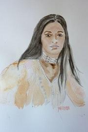 Femme Amérindienne. Yokozaza