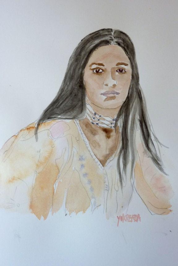 Femme Amérindienne. Yokozaza Yokozaza