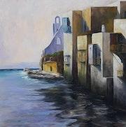 Small Venice Mykonos Island.
