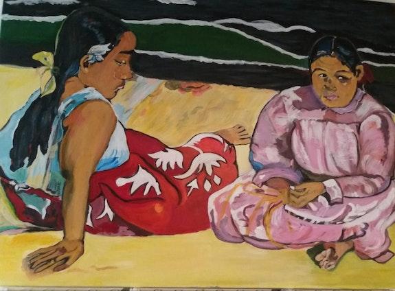 Les Tahitiennes de Paul Gauguin. Balarh Ilham Ilham Balarh