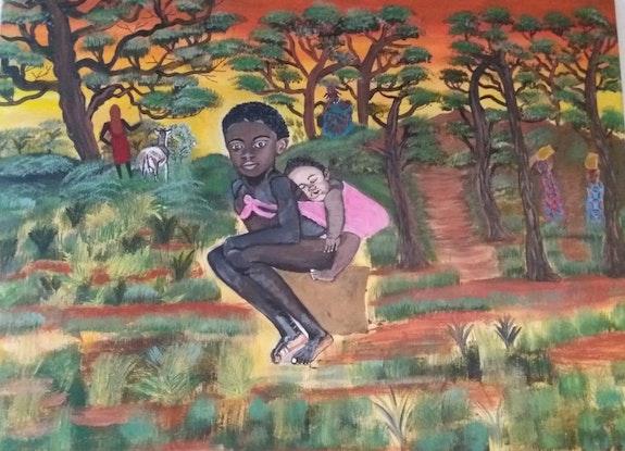 Une matinée au Kenya. Balarh Ilham Ilham Balarh
