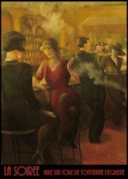 La soiree. Tony-Jeanne D