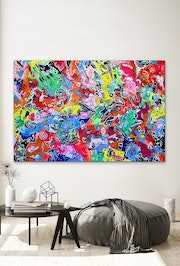 78'X53' (200x135cm), Life in Colors11.