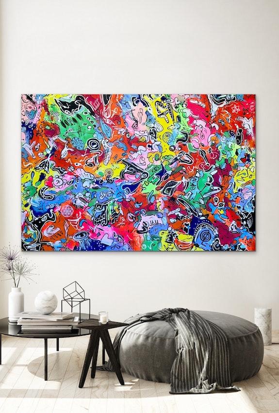 78'X53' (200x135cm), Life in Colors11. Veronica Vilsan Veronica Vilsan