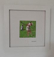 La golfeuse. Philippe Rossi