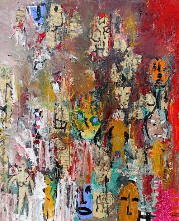 Hallowen masks graffitis,. Jacques Donneaud Jacques Donneaud