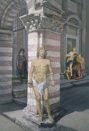 Saint Sebastient ou, Allégorie de la création. Alain Bazard