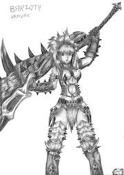 L'armure du Barioth. Susaku Kunglao