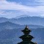 Toit de temple à Bhaktapur. Solena432