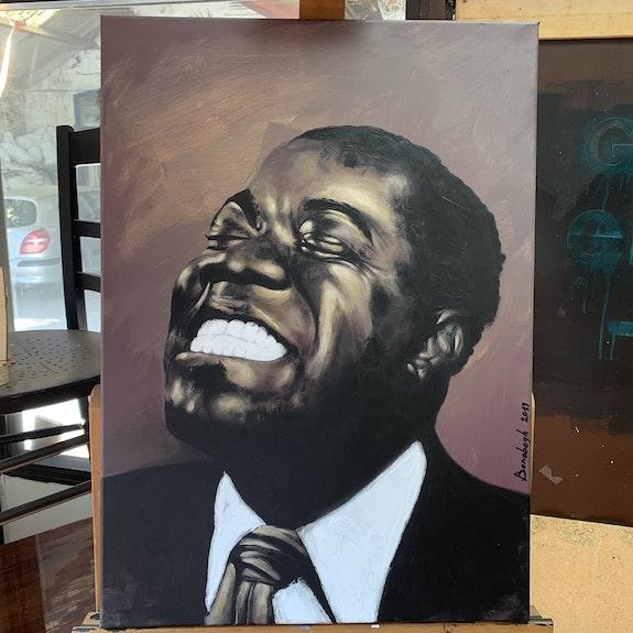 Portrait de Louis Armstrong. Vincent Bonobogh Vincent Bonobogh