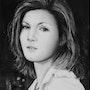 Portrait de Prisca monochrome. K. Zi. Yak