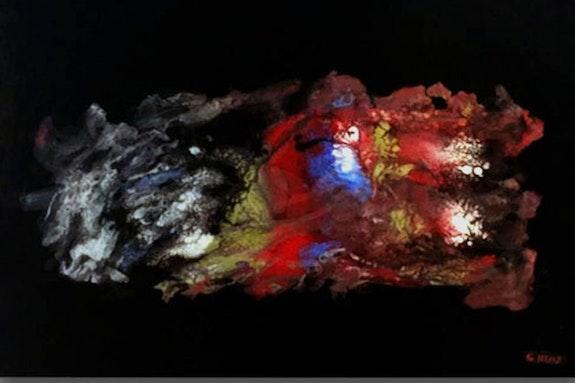 Los ríos de lava mezclándose. Sebastian Ruiz Sebastian Ruiz