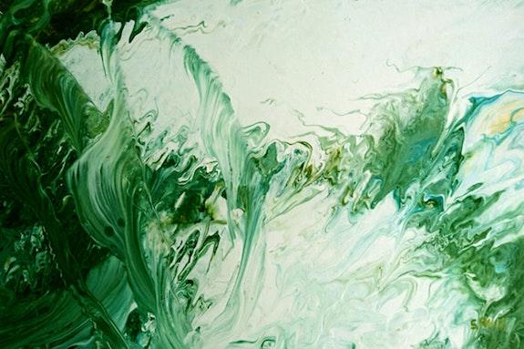 Movimiento de algas en el fondo marino. Sebastian Ruiz Sebastian Ruiz