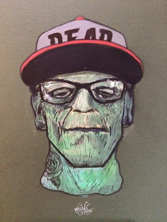 Dead Hipster. Marvin Arevalo Home