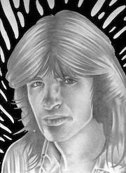Autoportrait réalisé en 1978.