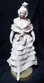 Sculpture of Terracotta by Alphonse Henri Nelson, sXIX. Bluentage