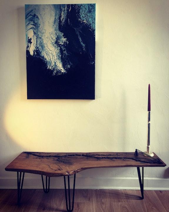 Table basse foudroyée. Eldingar Eldingar Woodworking
