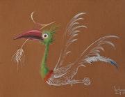 Oiseau de paix.