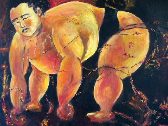 Sumo toro. Annick Ploquin Dit Madiot Madiot.com