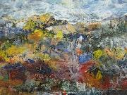 Paysage d'automne. Van Mor