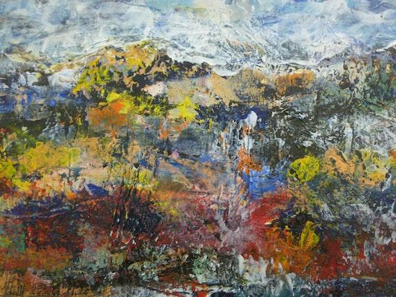 Paysage d'automne. Jean-Paul Morvan Van Mor
