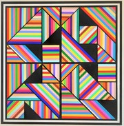 Playing with tangram. Franklin Van Dam