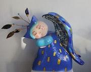 Sleeping Angel. Roxane Carlu