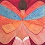 Femme papillon. Toune