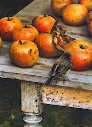 Des pommes savoureuses pour les pom pom girls.